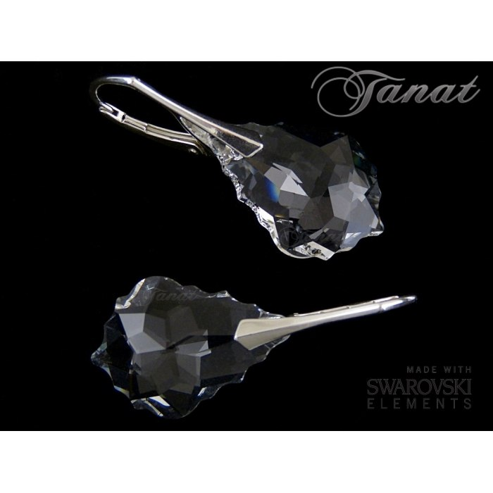 Baroque 2x22mm Crystal