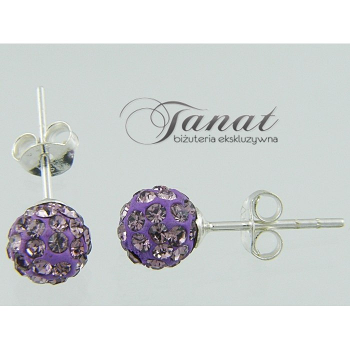 Wkręty kule 2x6mm Light Amethyst