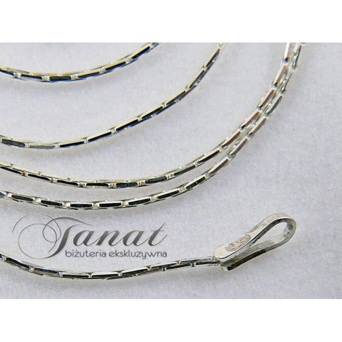 Łańcuszek żmijka Cardano 45 cm - ośmiokąt