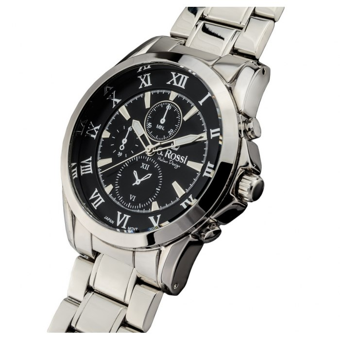 G.Rossi - silver/black 3844B