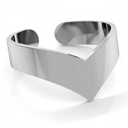 Srebrny pierścionek knuckle ring