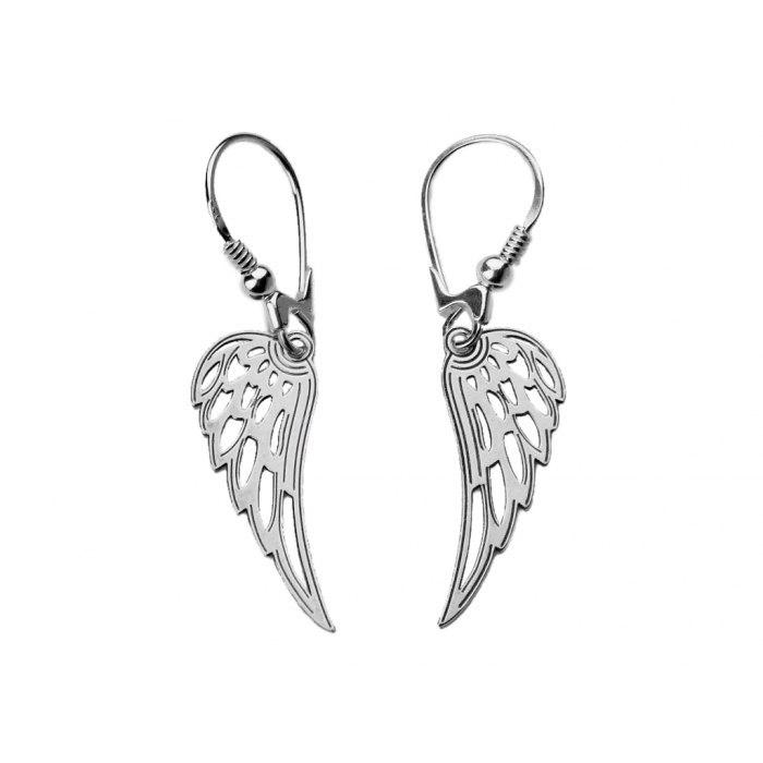 Srebrny komplet skrzydła