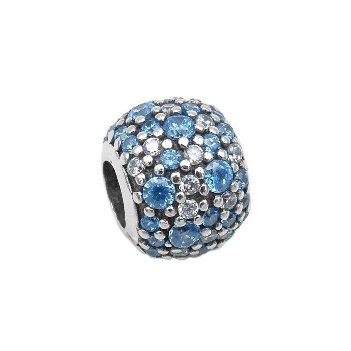 Srebrny koralik modułowy Beads