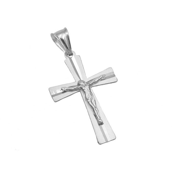Srebrny krzyż z Jezusem DEW-47