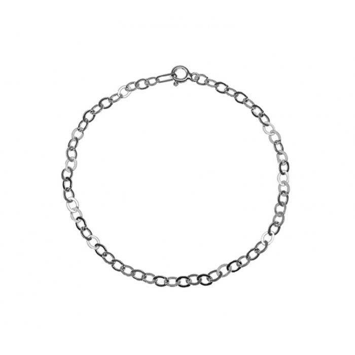 Srebrna 925 bransoletka rolo baza charms
