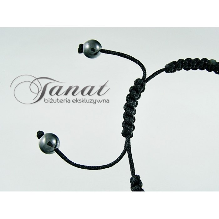 Bransoletka Shamballa 5x10mm Preciosa Light Siam
