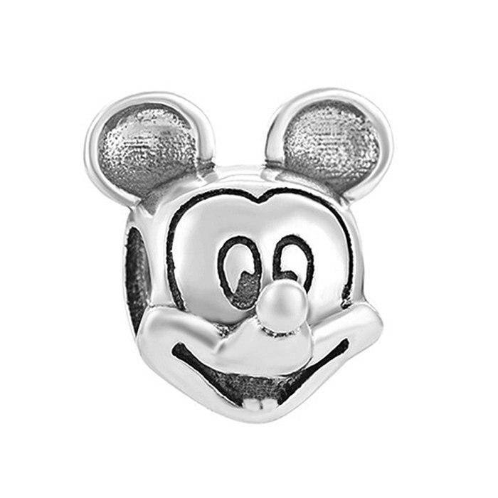 Srebrny koralik modułowy Beads myszka miki