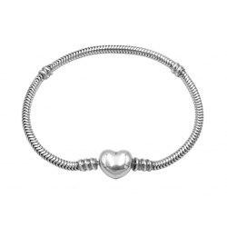 Srebrna bransoletka baza do koralików beads