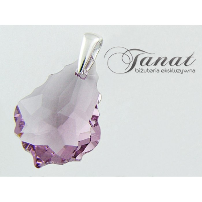 Baroque 1x22mm Light Amethyst