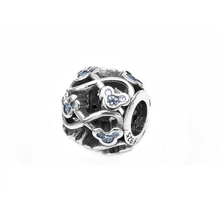 Srebrny koralik Myszka Miki Mini Beads